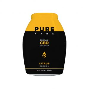 Purekana Beverage CBD Enhancer Citrus Energy