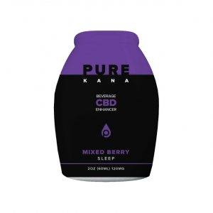 Purekana Beverage CBD Enhancer Mixed Berry Sleep