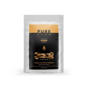 Purekana Large Dog Hemp Treats - Peanut Butter and Pumpkin
