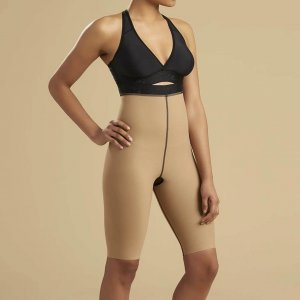 Highwaist zipperless short-length girdle by Marena