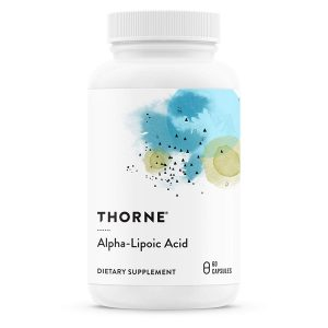 Thiocid-300 – Alpha Lipoic Acid Supplement (300 mg) for Antioxidant Support by Thorne Research
