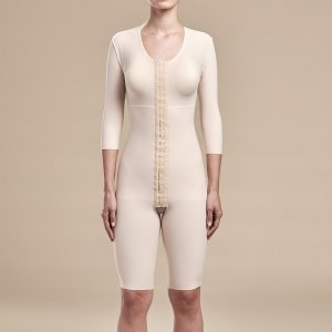 Bodysuit 3/4 Length Sleeves - Short Length By Marena
