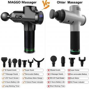 M3 Pro Muscle Massage Gun by Maggo