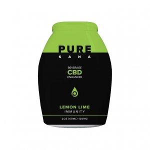 Purekana Beverage CBD Enhancer Lemon Lime Immunity